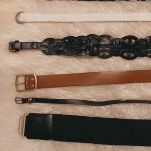 Various belts